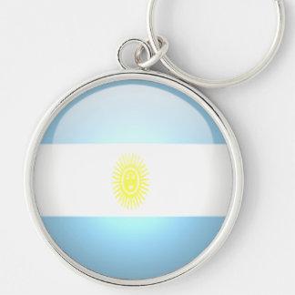 La Argentina - llavero redondo superior