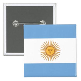 la Argentina Pin Cuadrado