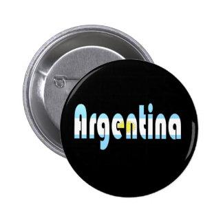La Argentina Pin Redondo De 2 Pulgadas