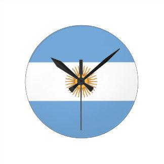 la Argentina Reloj Redondo Mediano