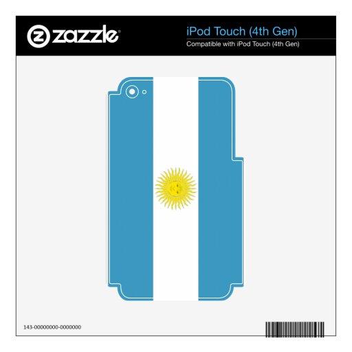 La Argentina Skins Para iPod Touch 4G