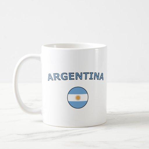 La Argentina Taza Básica Blanca