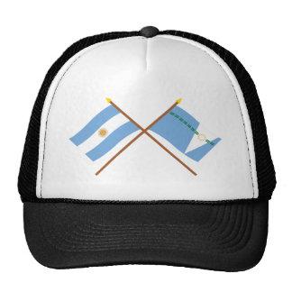 La Argentina y banderas cruzadas Formosa Gorra