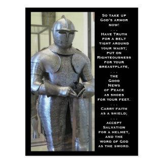 La armadura de dios postal