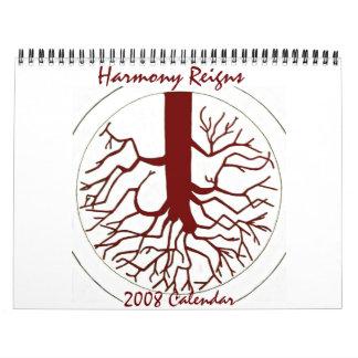 La armonía reina el calendario 2008