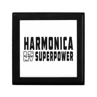 La armónica es mi superpotencia caja de regalo