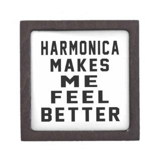 La armónica hace que siente mejor cajas de recuerdo de calidad