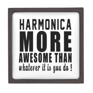 La armónica más impresionante que lo que es usted cajas de recuerdo de calidad