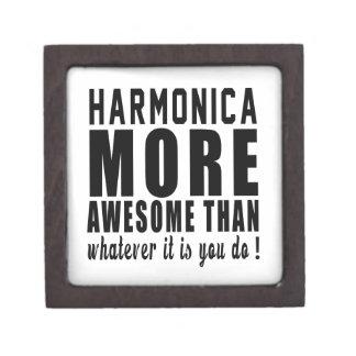 La armónica más impresionante que lo que es usted caja de recuerdo de calidad