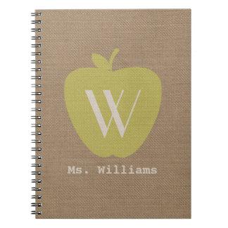 La arpillera amarilla de Apple inspiró el cuaderno