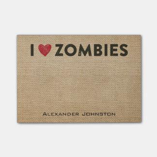 La arpillera de los zombis del corazón I personali