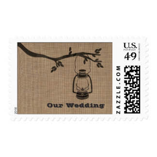 La arpillera inspiró el boda que acampaba de la sellos