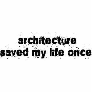 La arquitectura ahorró mi vida una vez esculturas fotograficas
