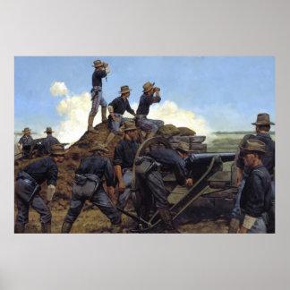 La artillería ligera de Utah por la impresión de K Póster