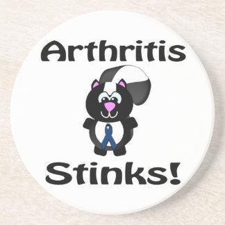 La artritis apesta diseño de la conciencia de la posavaso para bebida
