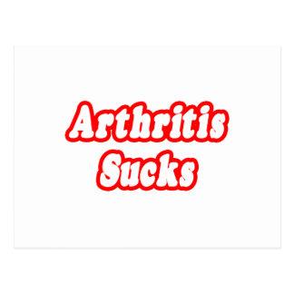 La artritis chupa postales