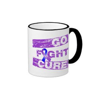 La artritis reumatoide va curación de la lucha taza a dos colores