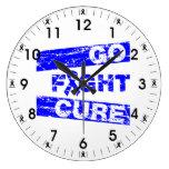 La artritis va curación de la lucha reloj de pared
