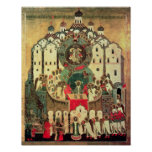 La asamblea de ángeles póster