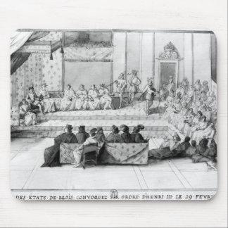 La asamblea de los estados de Blois Mousepad