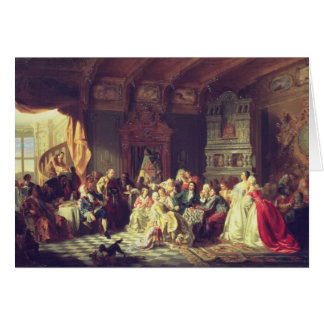 La asamblea debajo de Peter el grande Tarjeta De Felicitación