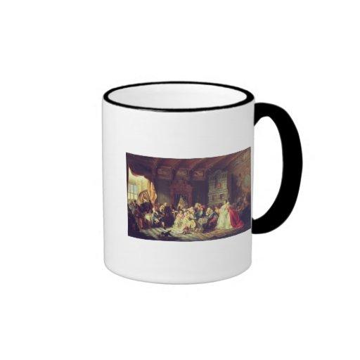 La asamblea debajo de Peter el grande Taza De Café