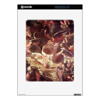 La ascensión 2 por Tintoretto iPad Calcomanías