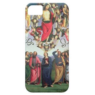 La ascensión de Cristo, 1495-98 (aceite en el pane iPhone 5 Coberturas
