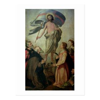 La ascensión de Cristo, 1595 (aceite en el panel) Tarjetas Postales