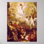 La ascensión de Cristo 1801 Posters