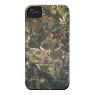 La ascensión de Cristo (fresco) iPhone 4 Cárcasa