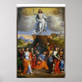 La ascensión de Jesús Póster