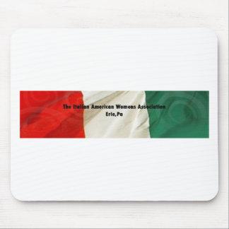 La asociación de las mujeres americanas italianas mousepads