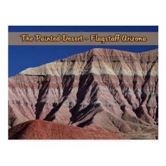 La asta de bandera pintada Arizona del desierto Postales