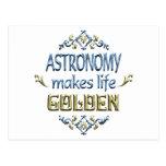 La ASTRONOMÍA es de oro Postal