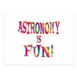 La astronomía es diversión postales