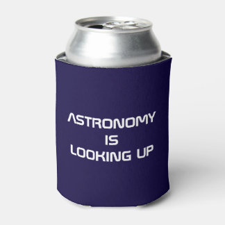 ¡La astronomía está mirando para arriba! neverita Enfriador De Latas