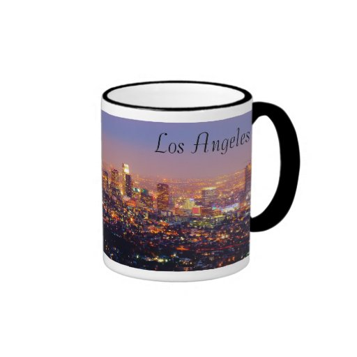 LA at  Night Coffee Mugs