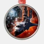 La Atlántida con Hubble Ornamente De Reyes