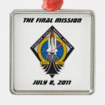 """La Atlántida STS-135 ornamento """"de la misión Adornos De Navidad"""
