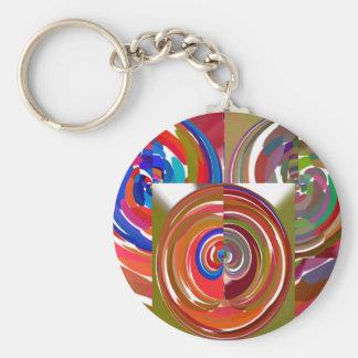 La aureola completa un ciclo - coloree la mandala  llaveros