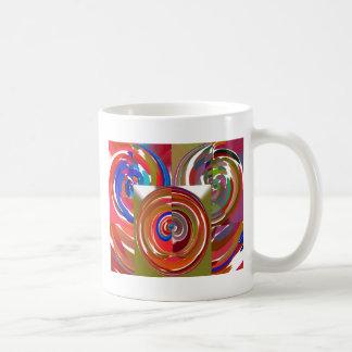La aureola completa un ciclo - coloree la mandala tazas
