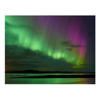 La aurora boreal de Islandia Postales