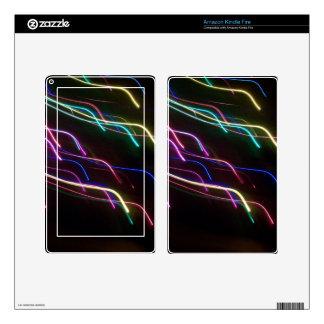 La aurora Borealis enciende la piel del fuego Kindle Fire Skins