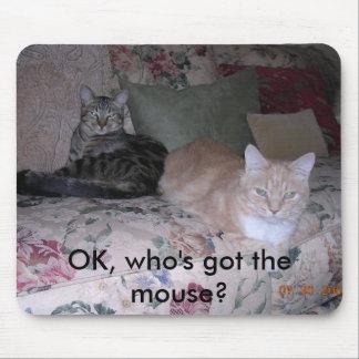 ¿La AUTORIZACIÓN, quién tiene el ratón? Alfombrilla De Raton