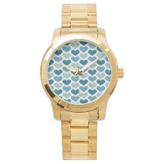 La autorización rica agradable elogia reloj