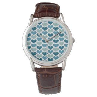 La autorización rica agradable elogia reloj de mano
