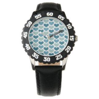 La autorización rica agradable elogia relojes