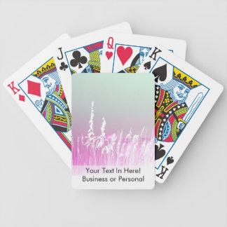 la avena del mar blanco pica imagen amarilla de la baraja de cartas