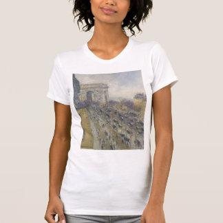 La avenida de Arco del Triunfo de Gustavo Loiseau Camisetas